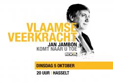 Vlaamse Veerkracht – Jan Jambon komt naar u toe (Hasselt)