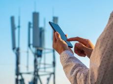 5G-mast | gsm in de hand