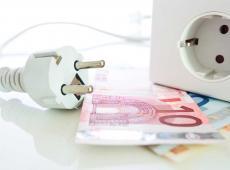Stopcontact en geld