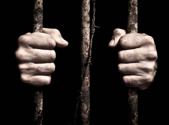gevangene in cel