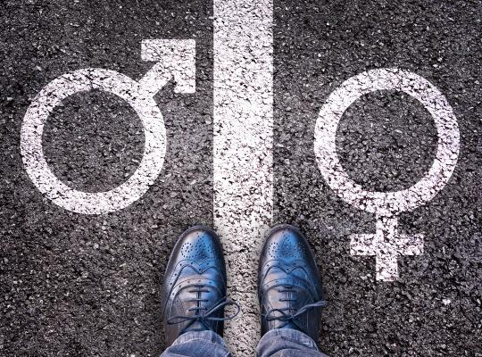 Enkel de transgender weet wie hij is en wat zijn identiteit is