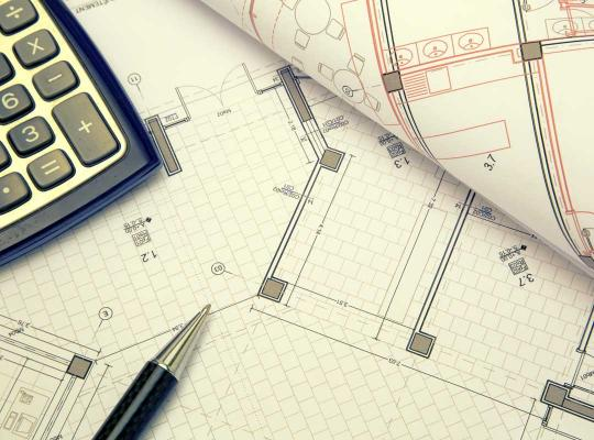 Plan van een woning